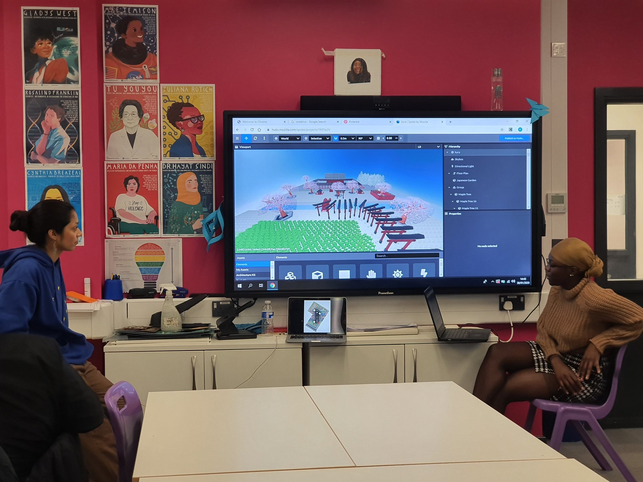 Building Worlds in Mozilla