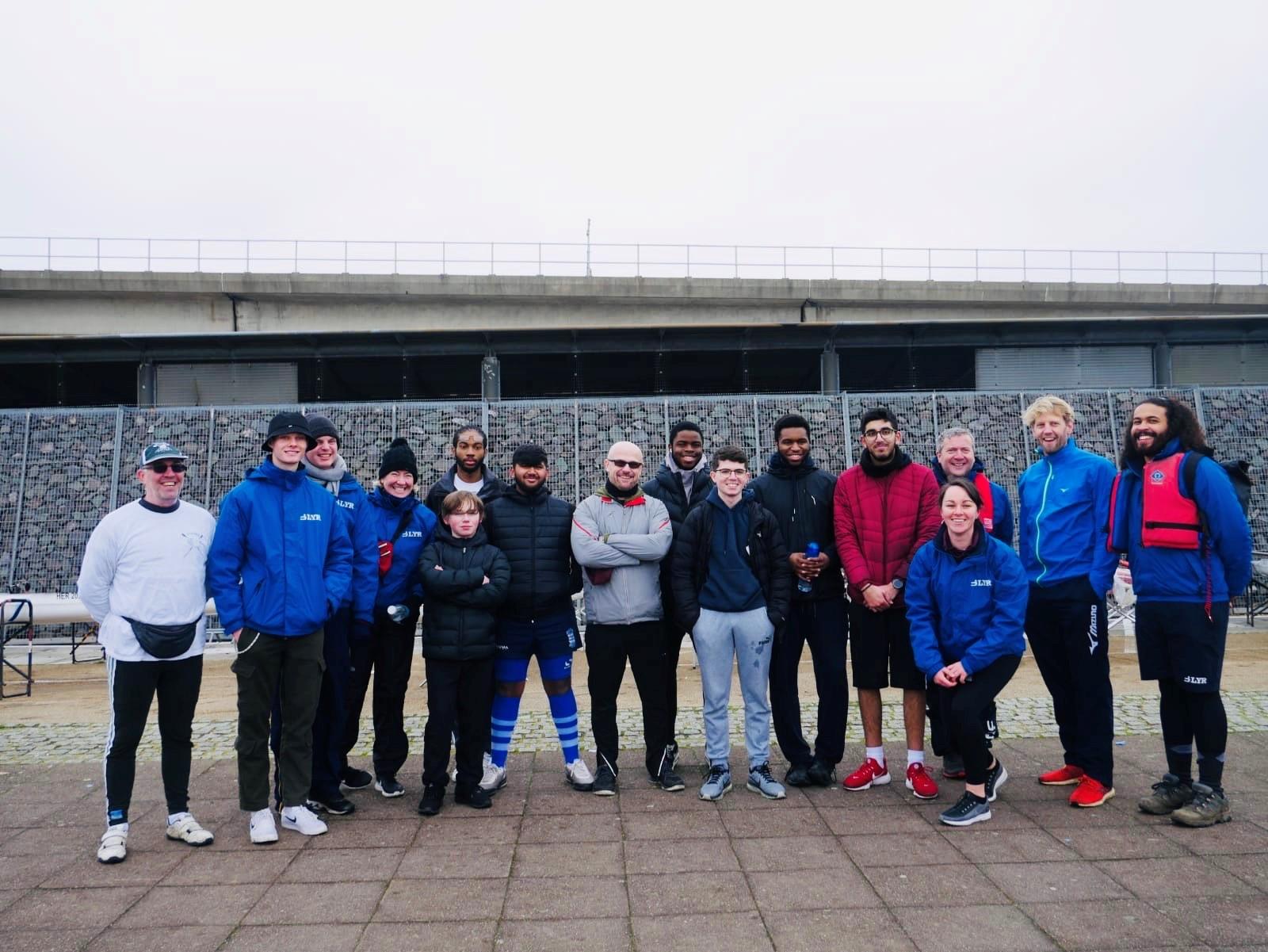 LDE UTC Rowing Club proudly working alongside CROSSFIT elite